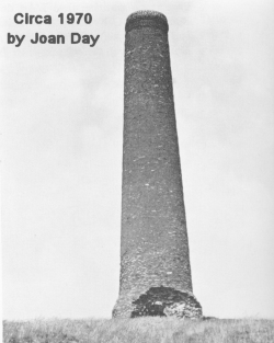 Troopers Hill chimney circ 1970 by Joan Day