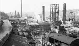 Tar Works 1953 by permission of Raymond Holland