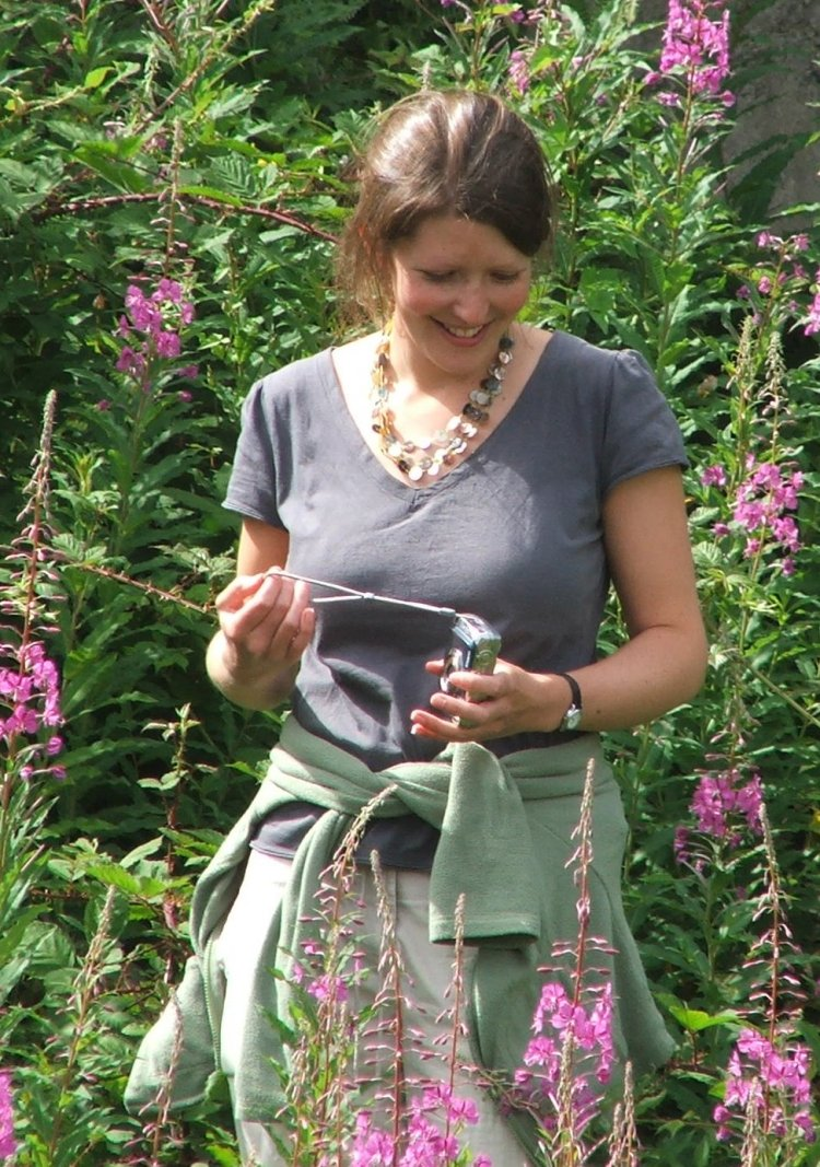 Sally Oldfield at Troopers Hill Local Nature Reserve, Bristol in June 2008